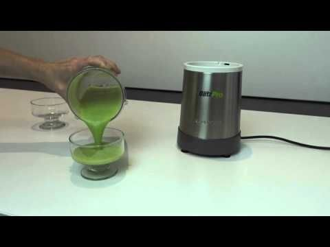 Dinner Time Green Smoothie in the BlitzPro Personal Blender