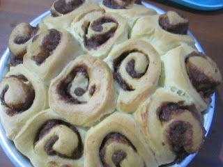 cinnamon roll,roti kayu manis,bread,resepi donut