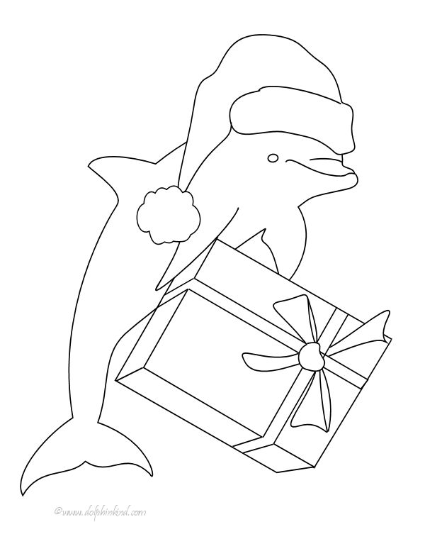 printable dolphin coloring page - Coloring Pages Dolphins Printable