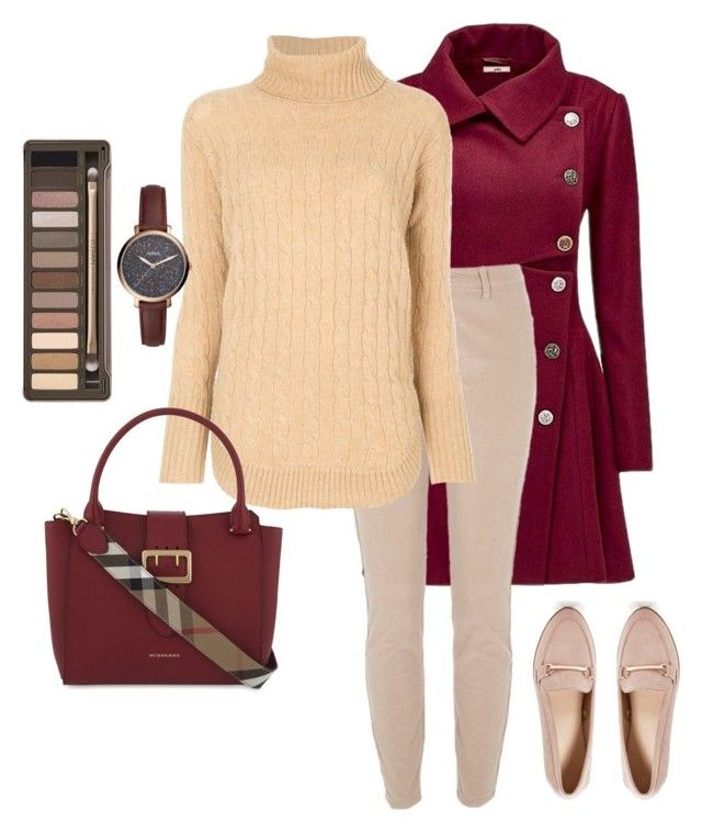 """Untitled# 152"" by bidlekerika on Polyvore featuring Joe Browns, River Island, Polo Ralph Lauren, Burberry, FOSSIL, Urban Decay and Boohoo"
