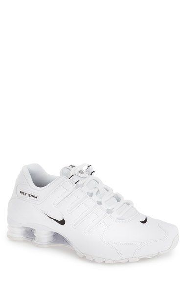 new arrival 6a62c bc216  Shox Nz Eu  Running Shoe (Men), White  Black  White