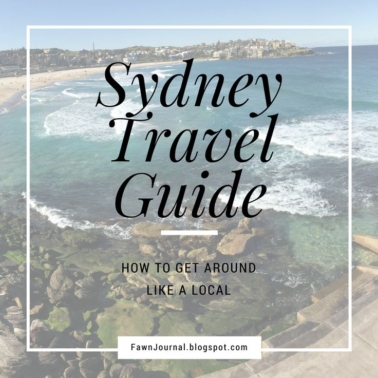 Sydney Travel Guide, Places to go and things to see!  https://fawnjournal.blogspot.com.au/2015/07/sydney-travel-diary.html