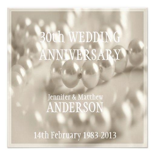 30th anniversary invitations at14 advancedmassagebysara
