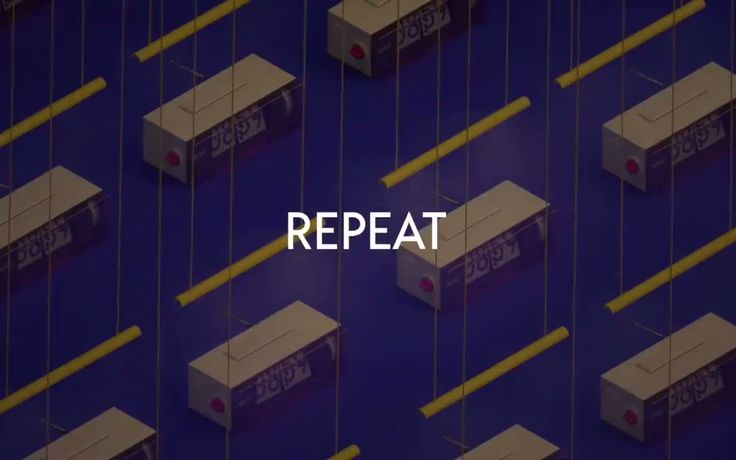 New video: REPEAT - Daily life by Melvin Le Riboter http://mindsparklemag.com/video/repeat-daily-life/