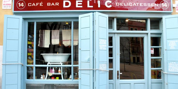 Cafe Bar Delic - Madrid  http://www.delic.es/