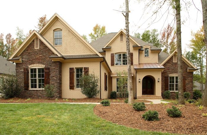 12 best exteriors images on pinterest decks outdoor for Custom home builders anderson sc