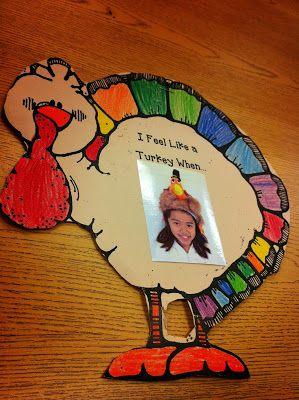 Feeling Like a Turkey~ Thanksgiving Bulletin Board Idea and Freebie