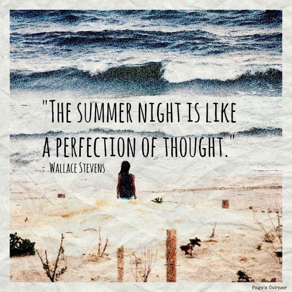 A Summer's Night... #quotes #summer
