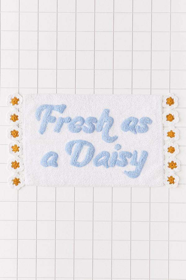 Fresh As A Daisy Bath Mat