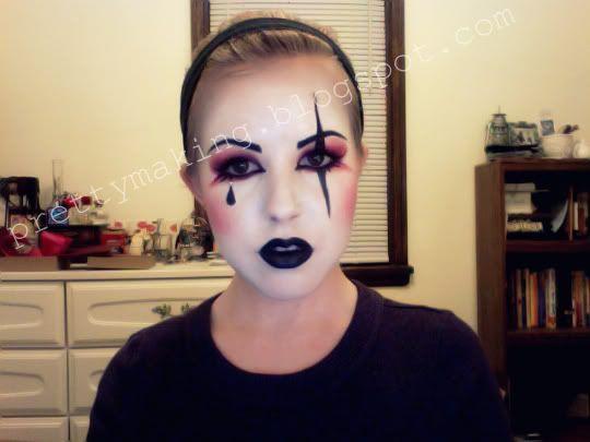 Harlequin makeup