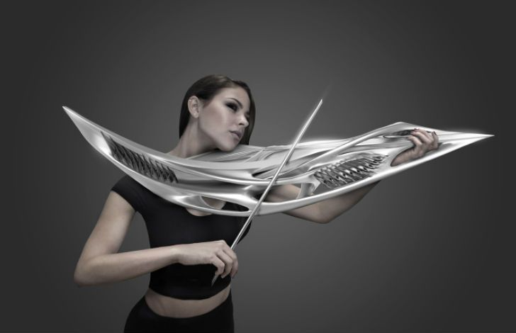 This 3D-printed violin has a classic sound and a look straight from the future | Inhabitat - Sustainable Design Innovation, Eco Architecture, Green Building
