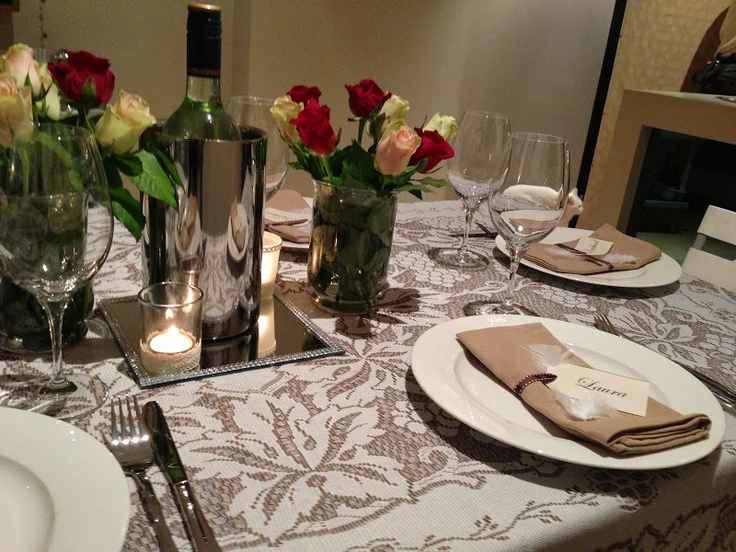Table Setting - Gatsby Themed Dinner Party