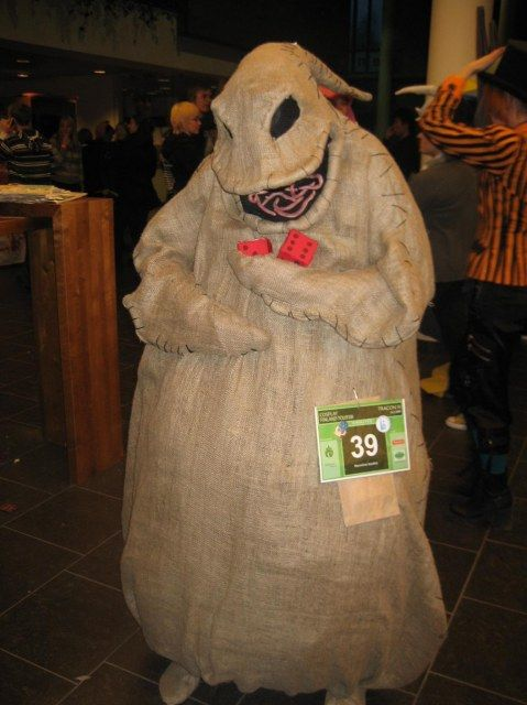 Posing -  The nightmare before christmas, Kingdom hearts - Oogie Boogie Man
