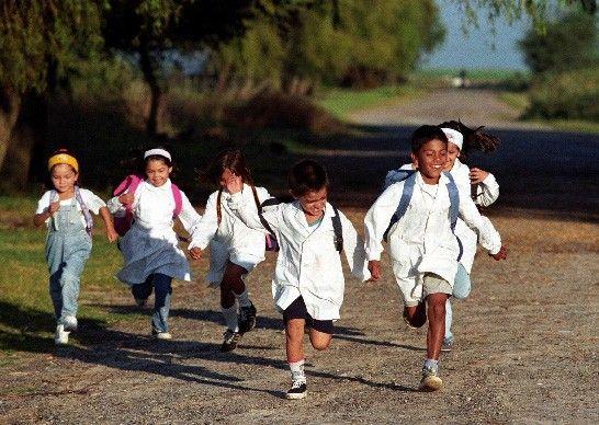 Escuela rural Uruguay niños