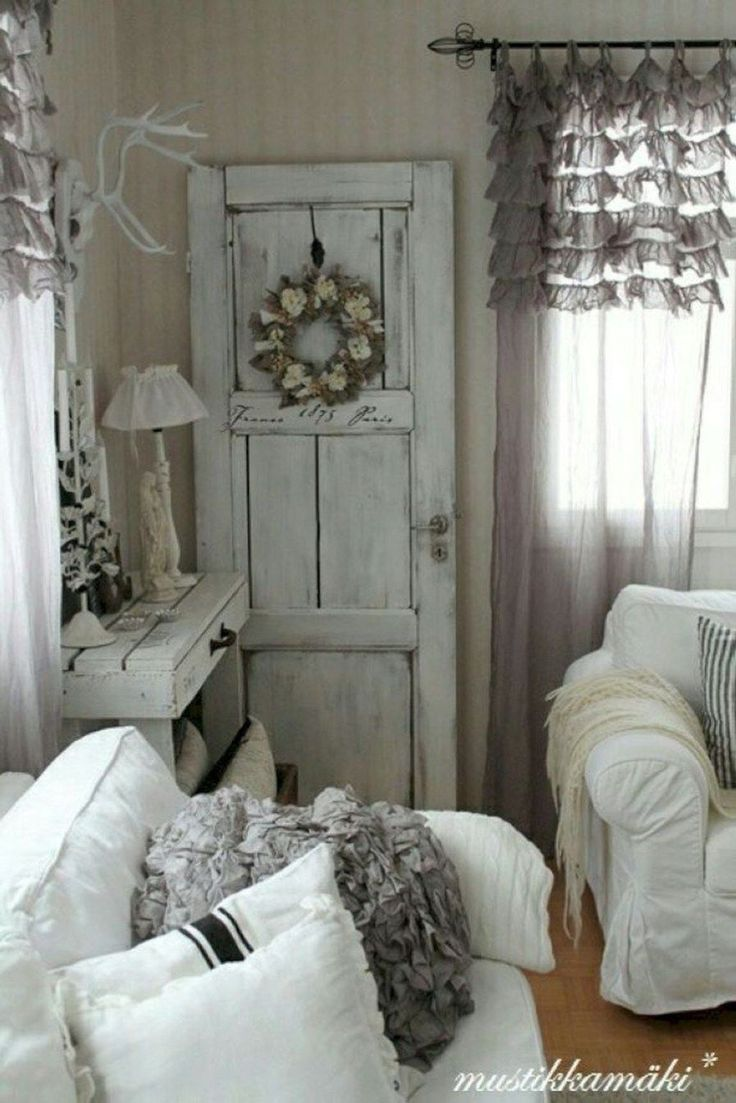 Enchanted Shabby Chic Living Room Decoration Ideas20 #shabbychicfurniture #PrimDecor