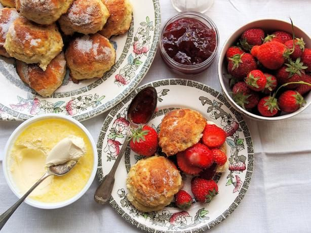 how to make simple fruit scones