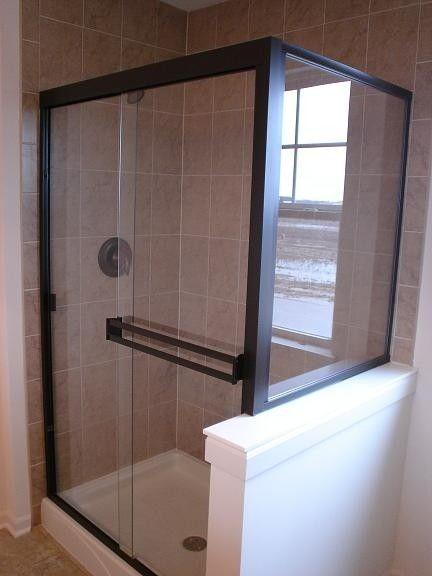 By Pass Shower Doors 3 16 Thick Semi Frameless Bypass