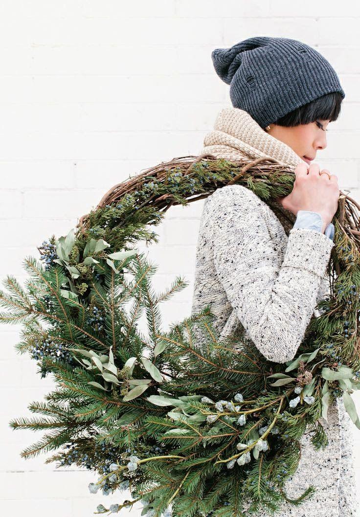 A slow natural christmas