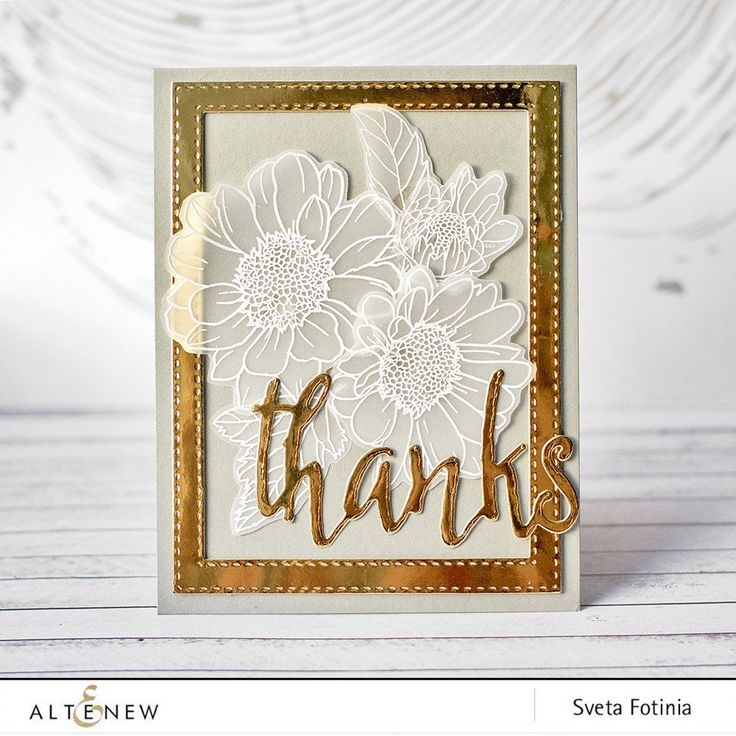 This is a bundle of Spring Daisy stamp set and coordinating die set. This floral stamp set is consists of 2-3 layering images allowing you to create in-depth da