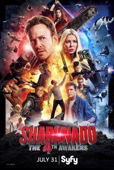 Sharknado 4: Güç Uyanıyor 2016 Türkçe Dublaj 1080p Full HD izle