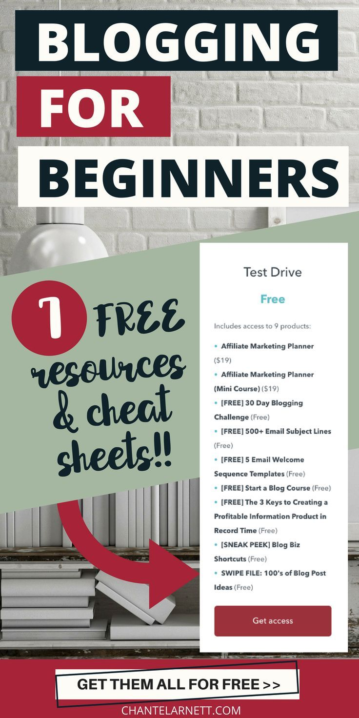 Looking for free blogging resources for beginners? Get these 7 blogging checklists and resources, perfect for beginners and learn how to blog like the pro bloggers! Just sign up for the free test drive at Blog Biz School and get immediate access! #blogging #bloggingtips #makemoneyonline #makemoneyblogging