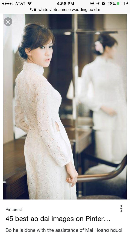 103 best Wedding - Ao Dai images on Pinterest | Ao dai wedding ...