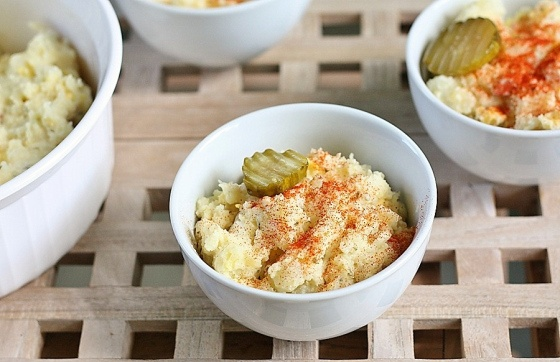 Eggy potato salad with pickles | Recipes | Pinterest