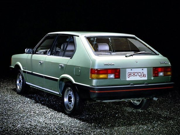 The Hyundai Pony (Hangul: 현대 포니), was a small rear-wheel drive automobile produced by the South Korean manufacturer Hyundai from 1975 to 1990. The Pony was South Korea's first mass-produced car