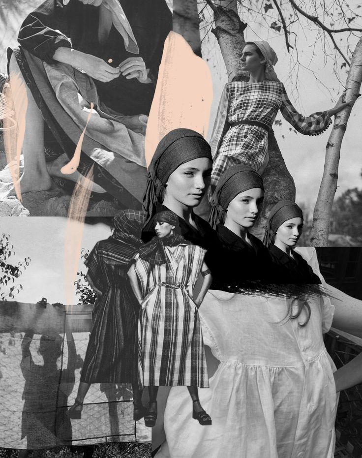 Laundress- Digital Collage by Alisha Harding