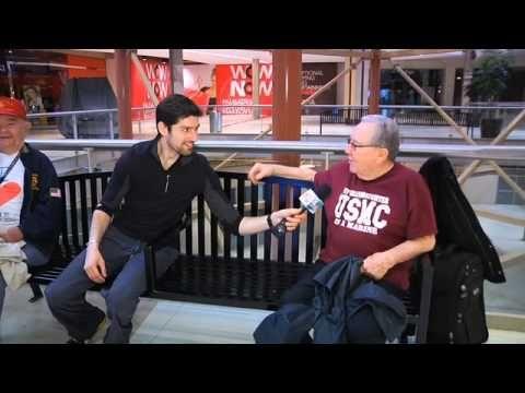 ben aaron introduces a new sportmall walking - Ben Aaron