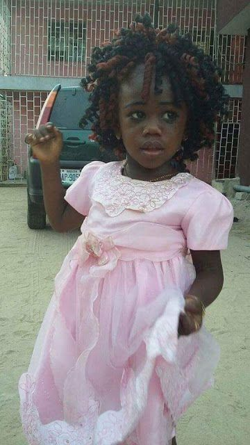 Photos: 3-year-old Girl Kidnapped At Gunpoint In Sapele Delta State.