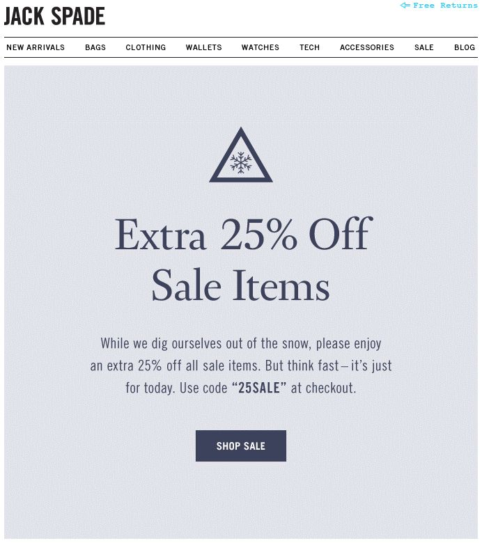 Best Email  Sale Images On   Email Newsletter
