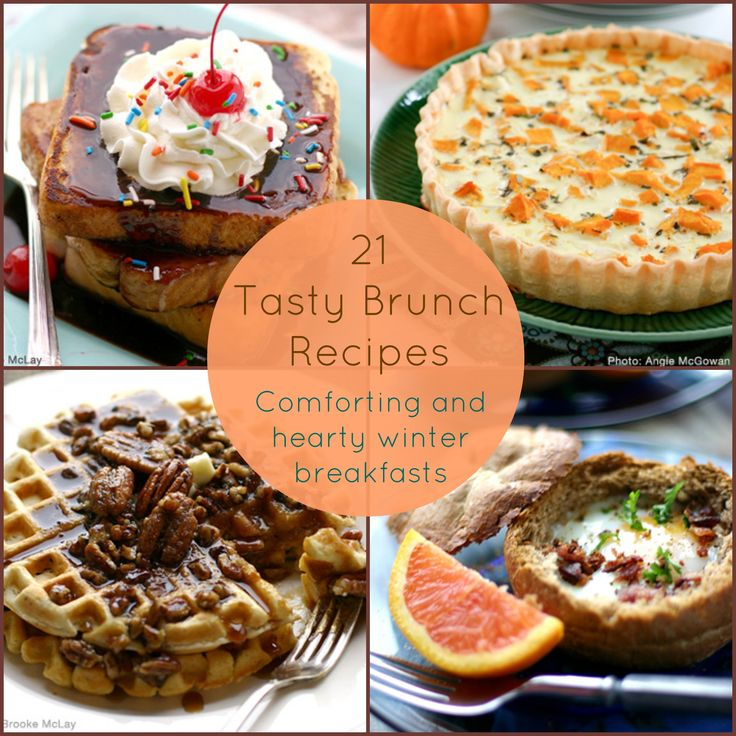 21 Tasty Brunch Recipes