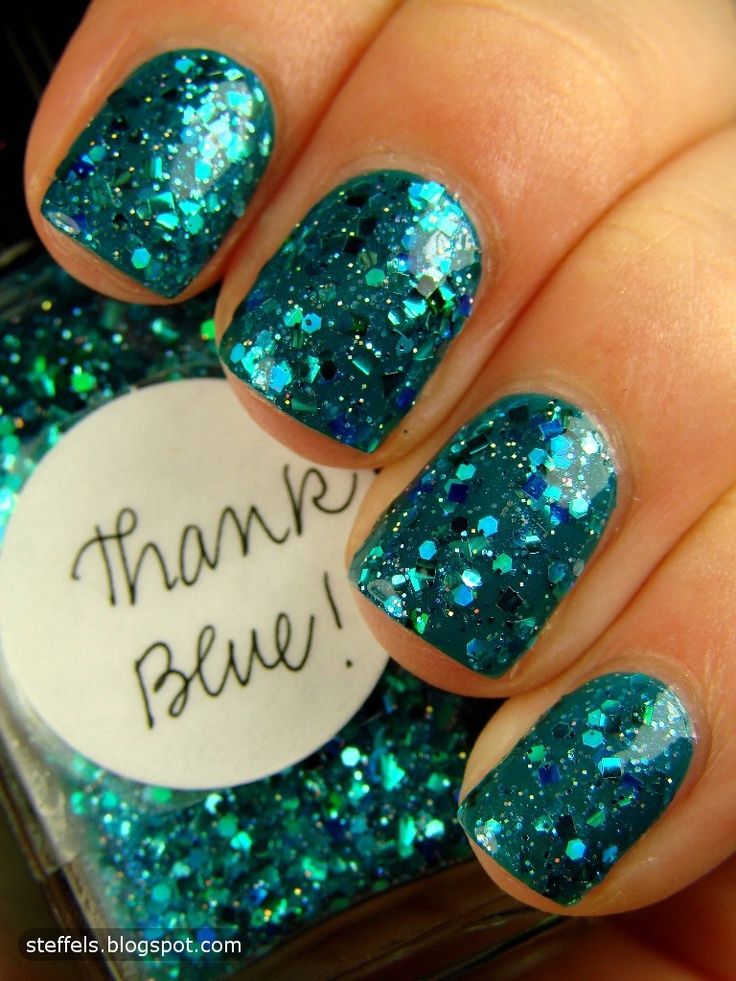 Glitter Nails: 25+ Best Ideas About Blue Glitter Nails On Pinterest