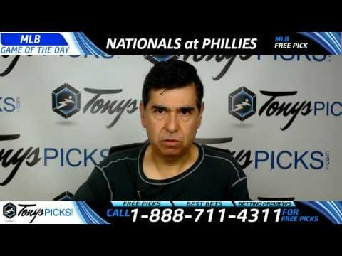 Washington Nationals vs. Philadelphia Phillies Free MLB Baseball Picks a...