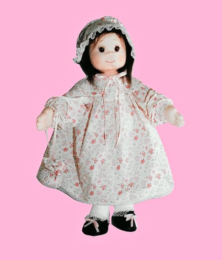 "PDF Soft Doll Pattern, PDF, Cloth Doll Pattern, Ooak Doll, Digital Download. Soft Sculpture Intermediate Level. ""Maggie"" from Rosselladolls on Etsy Studio"