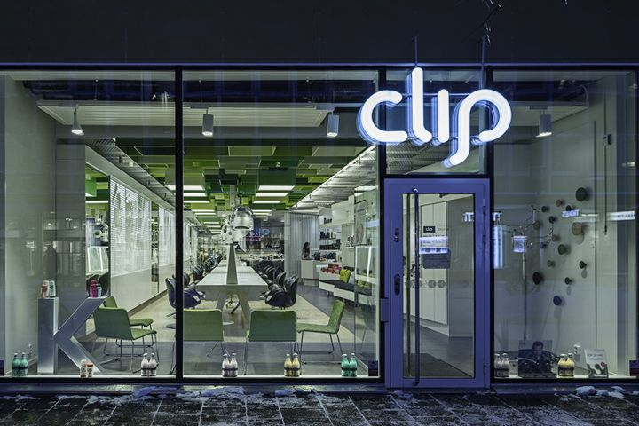 Clip Drop In hair salon by Sweco Architects, Umeå – Sweden