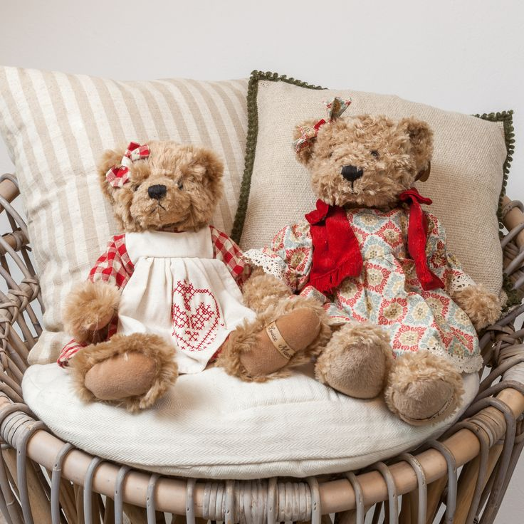 Vintage Toys - Fluffy Bear Teddy Toys only @ Chic Ville NOW