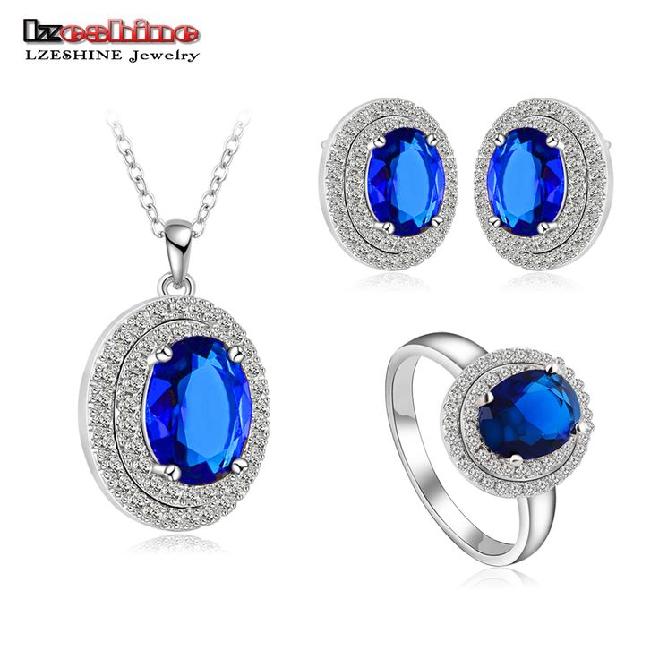 Silver Color Necklace/Earring/Ring Set // Price: $16.95 & FREE Shipping Worldwide //  We accept PayPal and Credit Cards.    #nails