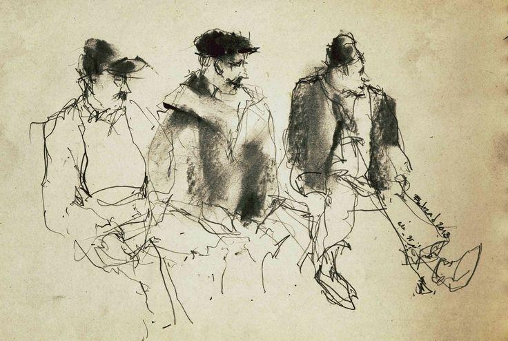 Urban Sketchers: Behzad Bagheri