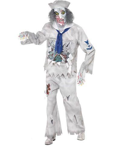 Zombie Seilori. Zombie Seilori on naamiaisasu, joka takaa huomion ja toimii parhaiten Halloweenin aikaan.