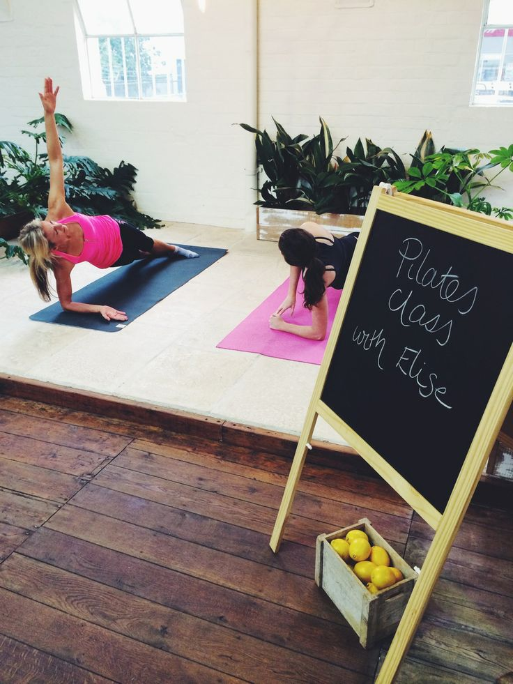 All about wellness at HealthyBYTe. Thanks to Elise & BYT staffies for the pilates demonstration at our recent launch