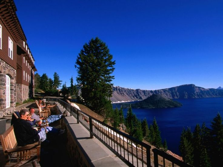 As the only accommodation in Crater Lake NP, this hotel offers unparalleled views of the massive blue body of water.