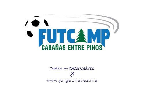 Logotipo diseñado para torneo de Fútbol en campamento.