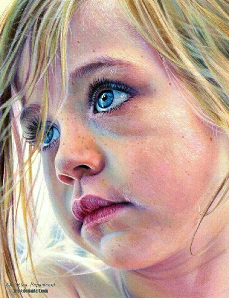 Pencil work by Christina Papagianni!Stunning!