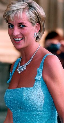 June 3, 1997: Diana Princess of Wales at the English National Ballet production of Swan Lake at the Royal Albert Hall.
