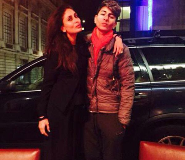 PHOTOs: Karina is holidaying in London with Stepson!