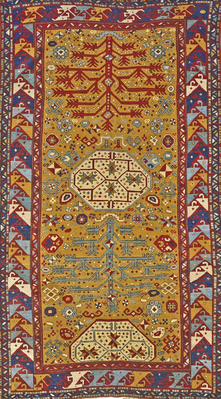 Kazak rug, southwest Caucasus, late 19th century, approximately 6ft. x 10ft. US$5,500-6,500