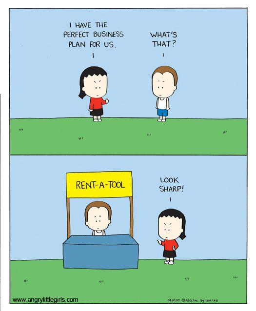 Angry Little Girls on GoComics.com #humor #comics