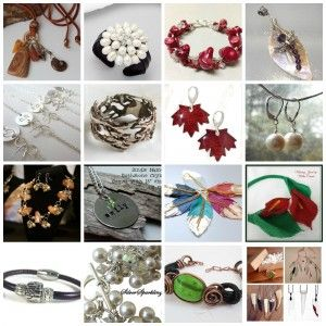 Who doesn't love Handmade Jewellery ... sneak peek at some of our jewellery vendors you can find at the Craftadian Spring Show  APRIL 18th @ International Centre